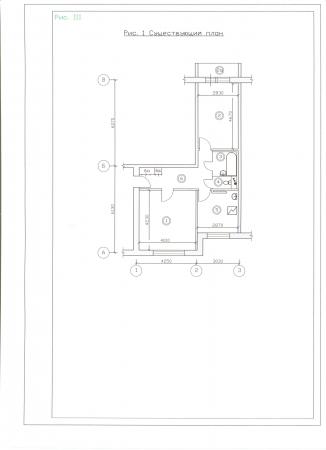 Планировка, дизайн и интерьер квартиры 45 кв м